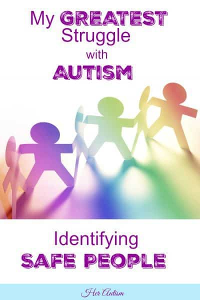 Autism and Safe People