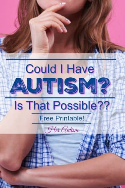 Autism Signs of